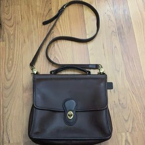 Vintage Coach bag Willis #9927